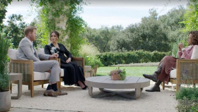 interviului pe care prințul Harry și soția sa Meghan l-au acordat lui Oprah
