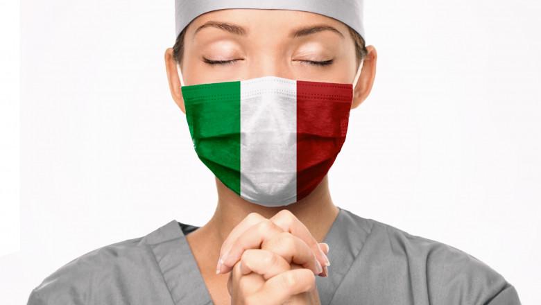 Italia, în doliu național: Pandemia a ucis 100.000 de oameni