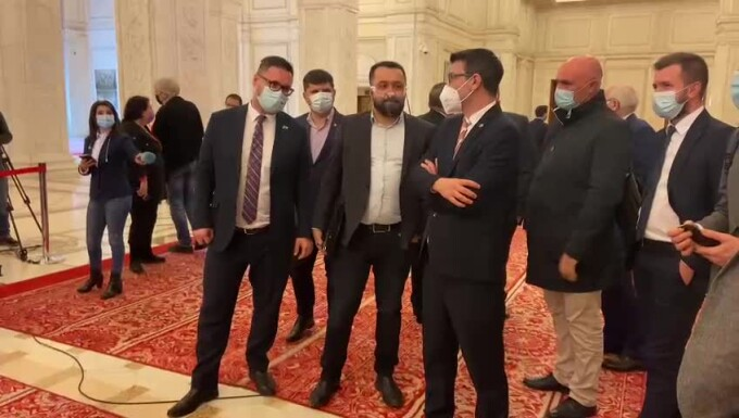 Jigniri în Parlamentul României, între doi deputați. Vezi despre cine este vorba