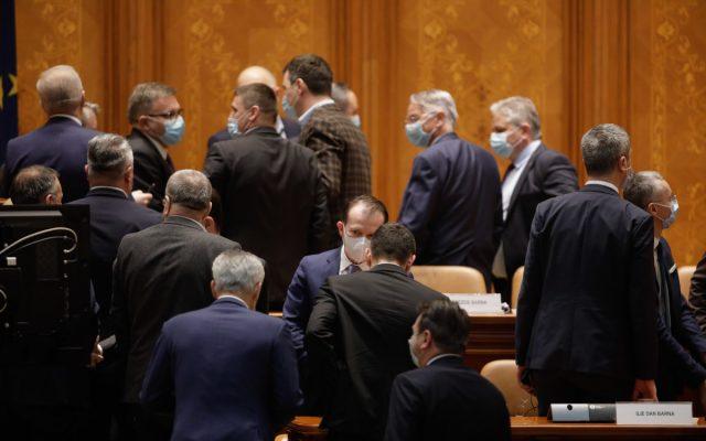 parlament, buget 2021, dezbateri, vot,