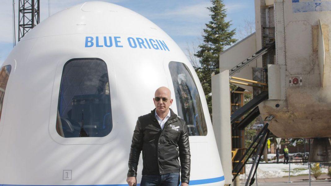 Bezos trimite primii oameni în excursia de 10 minute în spatiu