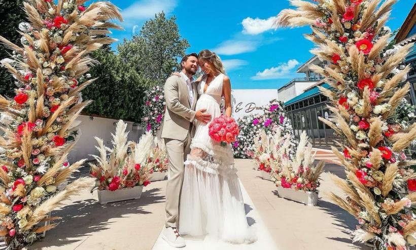 Dani Oțil s-a căsători cu Gabriela Prisacaru