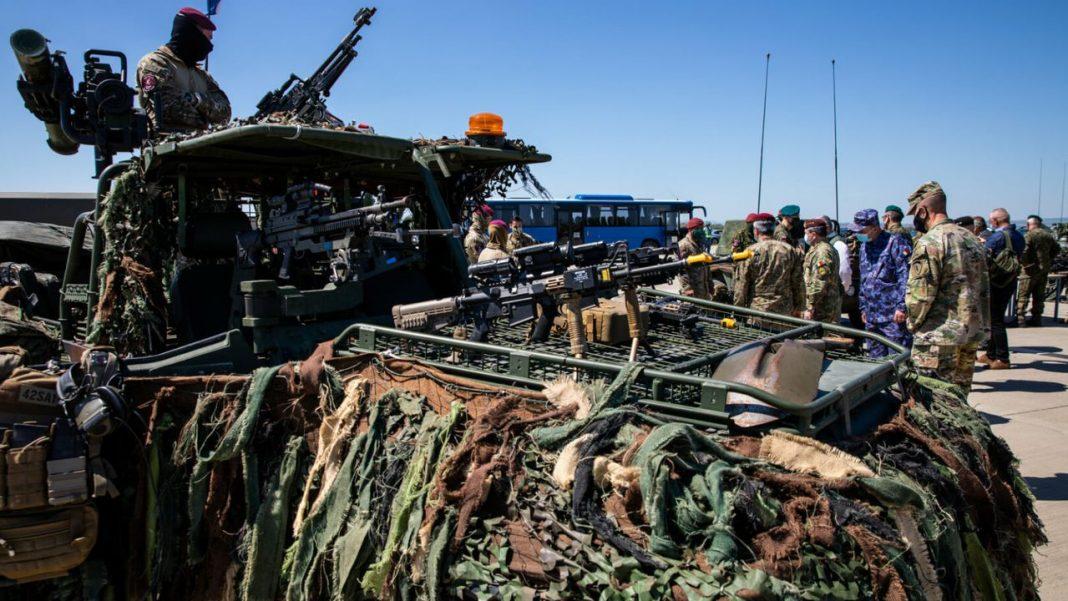 Forțe NATO participă, în România