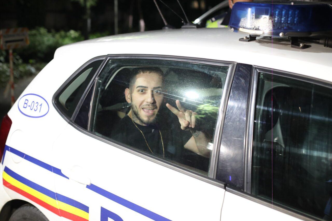 Fulgy de la Clejani a fost prins drogat la volan