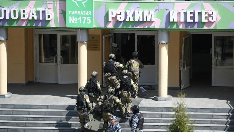 Atac armat într-o școală din Rusia. șase elevi și un profesor a decedat
