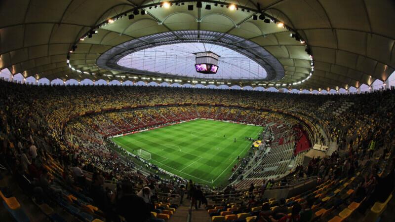 Primăria Capitalei: EURO 2020 s-a modernizat instalația de nocturnă a Arenei Naționale