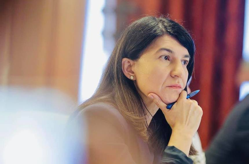 Liderul PNL Bucureşti Violeta Alexandru