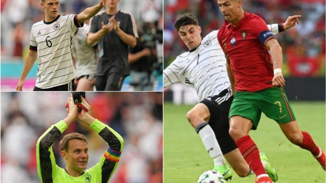 Cristiano Ronaldo pe teren, învinsă cu 4-2 de Germania