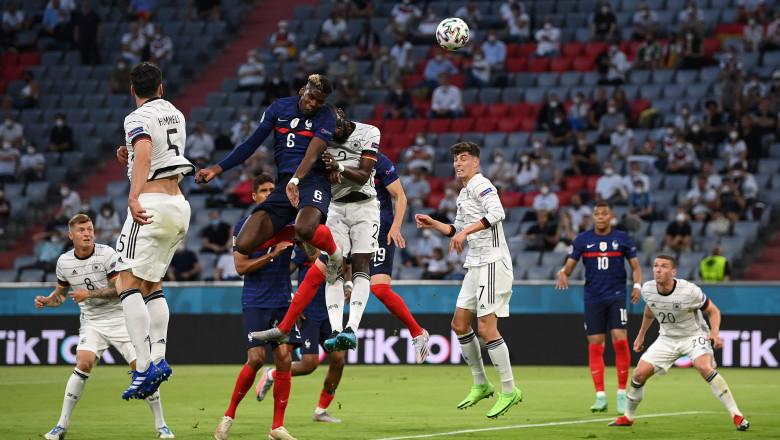 Franța a învins Germania prin autogol, la Euro 2020