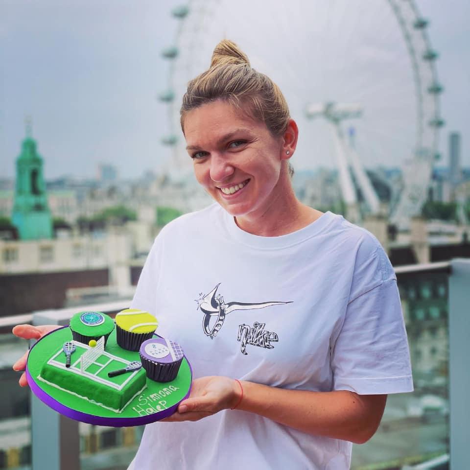 Simona Halep a ajuns la Wimbledon