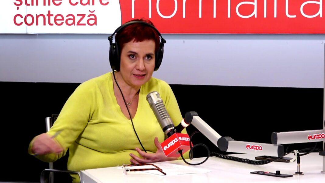 Jurnalista Ioana Ene Dogioiu