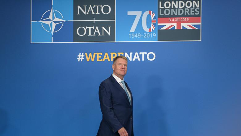 Iohannis va participa la Summitul NATO