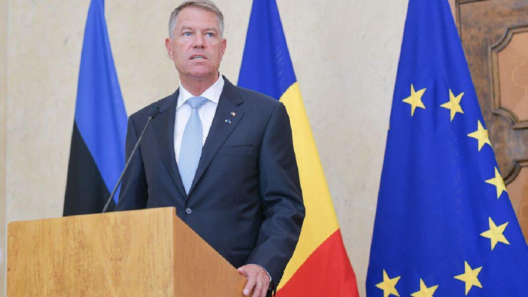 Iohannis spune ca România, este alături de Franţa, în topul creşterilor economice în 2021