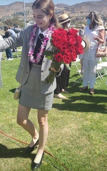 Irina Columbeanu a absolvit școala în SUA
