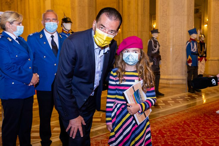 orban, ziua copilului, palatul parlamentului