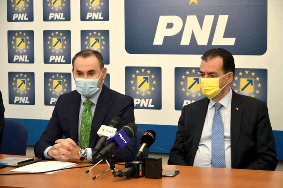 Ludovic Orban, despre alegerile interne din PNL: Trebuie să ducă la întărirea cantitativă şi calitativă a partidului