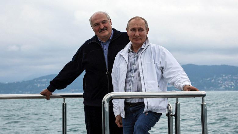 Lukasenko, la finalul întâlnirii cu Putin: Vom avea o activare NATO