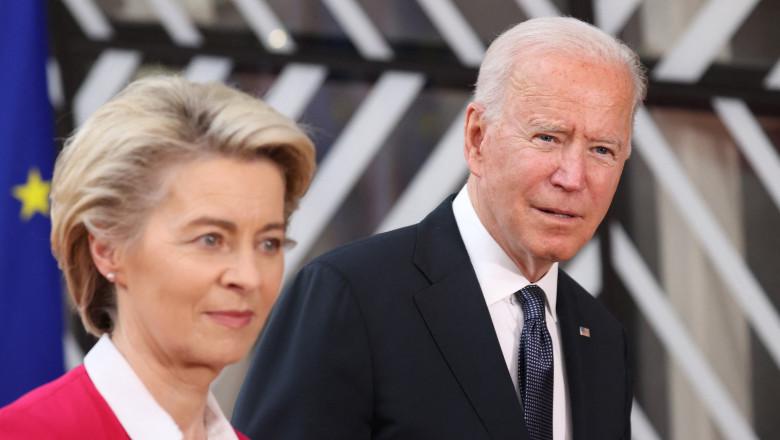 Biden încheie războiul comercial cu UE