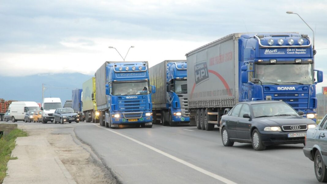 Protest al transportatorilor