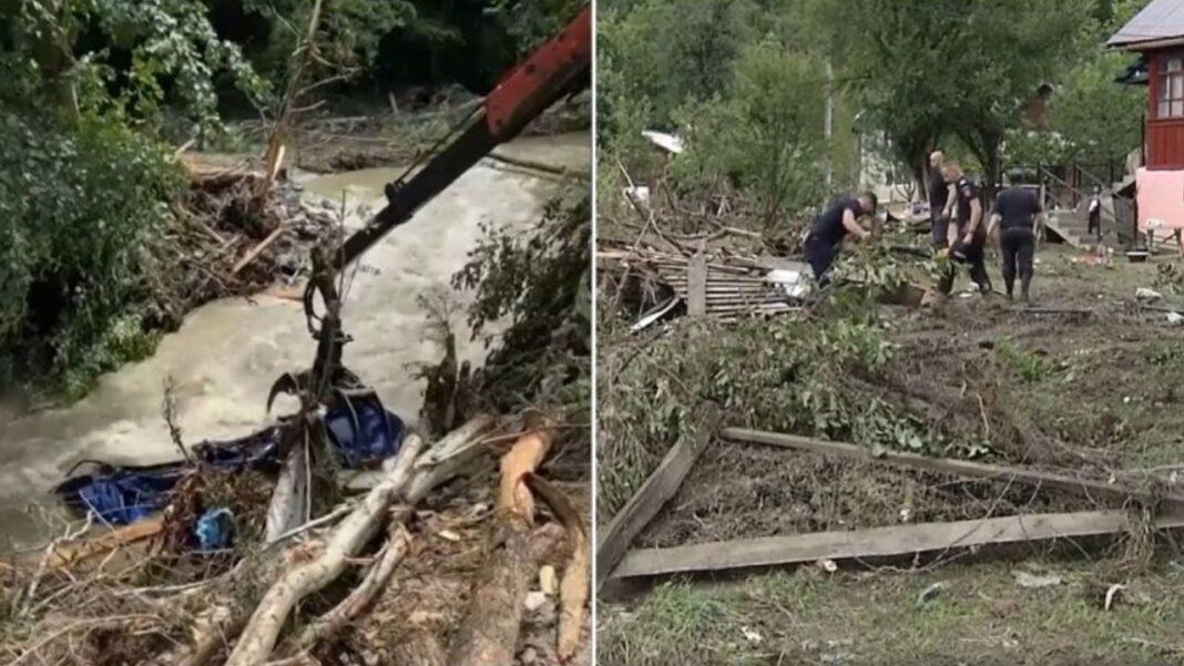 Guvernul ignoră oamenii ale căror vieți au fost distruse de inundații. Containerele promise de primărie nu au ajuns la Sohodol