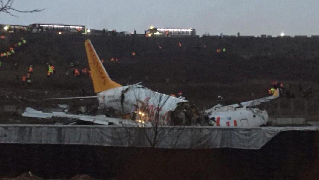 Avion prabușit, în Suedia