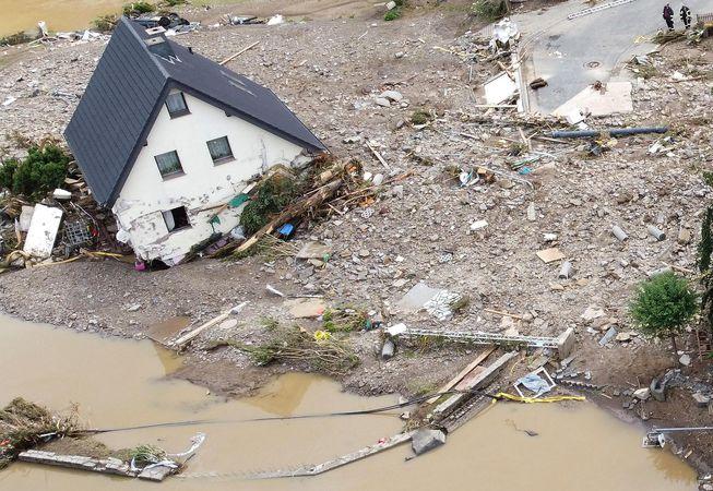 Germania, devastată de inundații