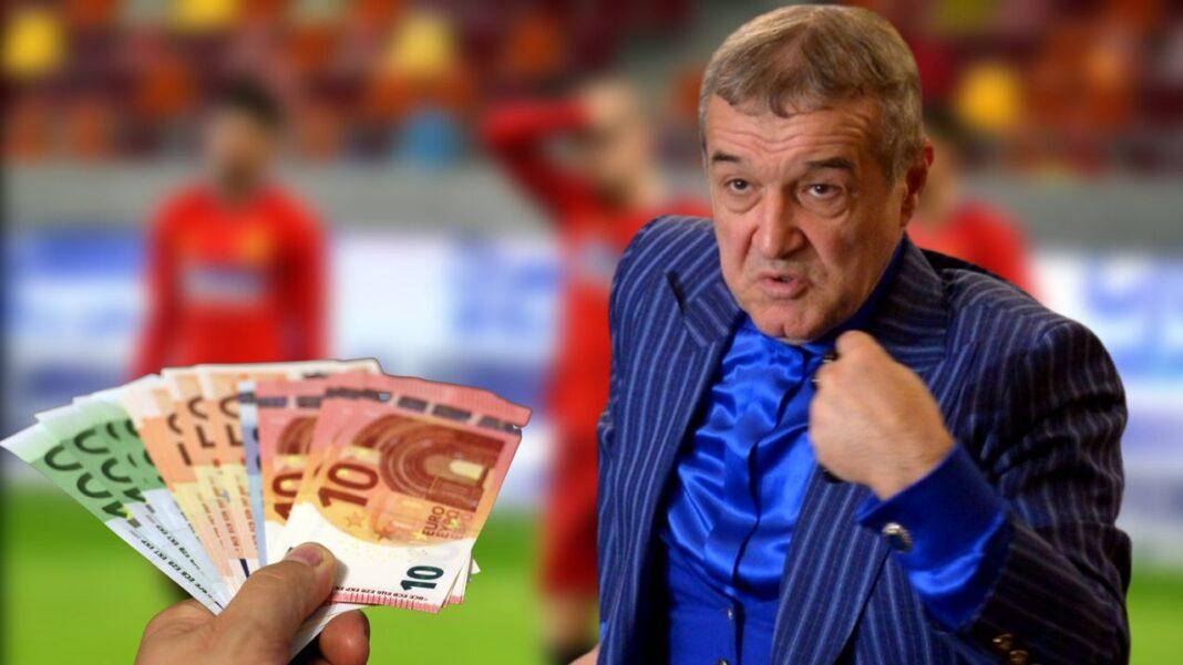 Lovitură pentru Gigi Becali. FCSB pierde bani frumoşi după falimentul sponsorului City Insurance