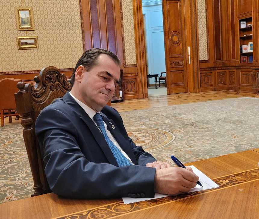 Ludovic Orban anunţă că şi-a depus demisia de la şefia Camerei Deputaţilor: Nu mai pot fi părtaş la decizii luate de o conducere instalată cu forţa la conducerea PNL