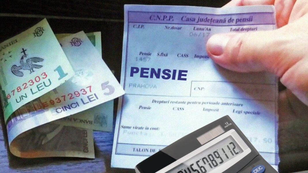 Talonul de pensii